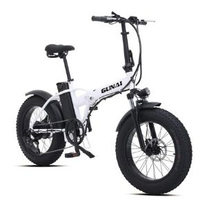 fat-bike-elettrica-500-w-gunai-bianco-nero