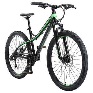 mountain-bike-donna-bikestar-nero-verde
